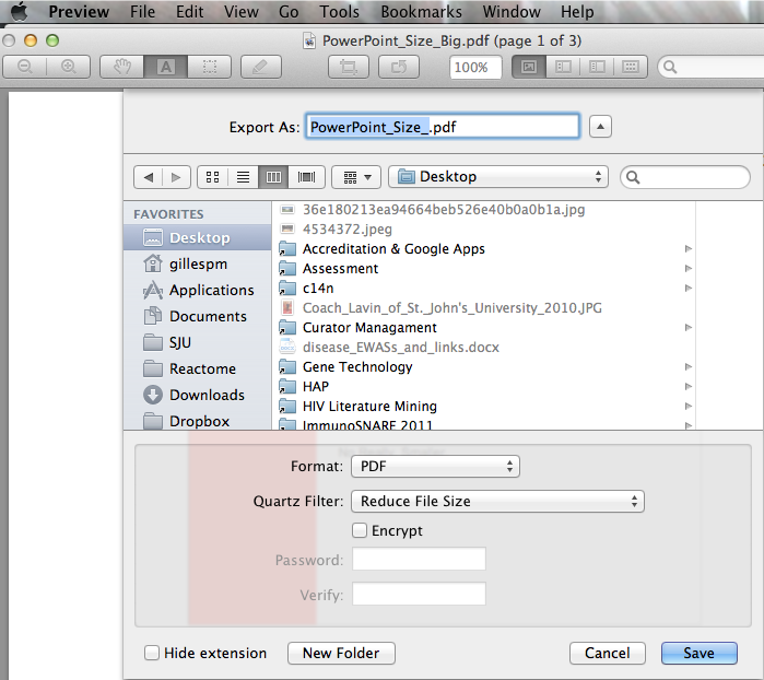 Managing Powerpoint Presentation File Sizes (1/2)